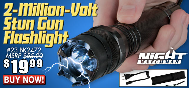 2-Million-Volt Stun Gun Flashligt
