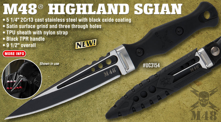 M48 Highland Sgian With Sheath