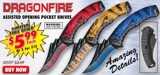 Dragonfire Knives