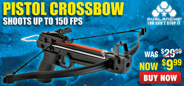 Avalanche Mini Crossbow Tactical Pistol 50-lb