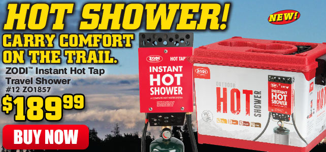 Instant Hot Tap Travel Shower