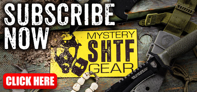SHTF Mystery Gear Monthly Subscription Box