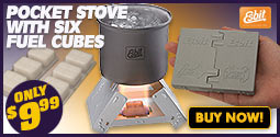 Esbit Pocket Stove With Six Fuel Cubes