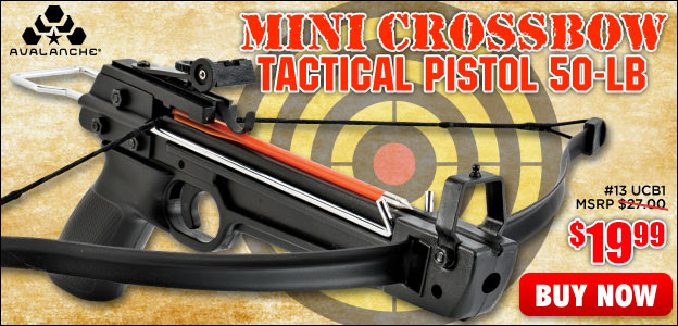 Avalanche Mini Crossbow Tactical Pistol